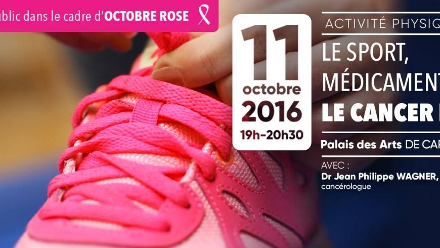 Conférence octobre rose 2016