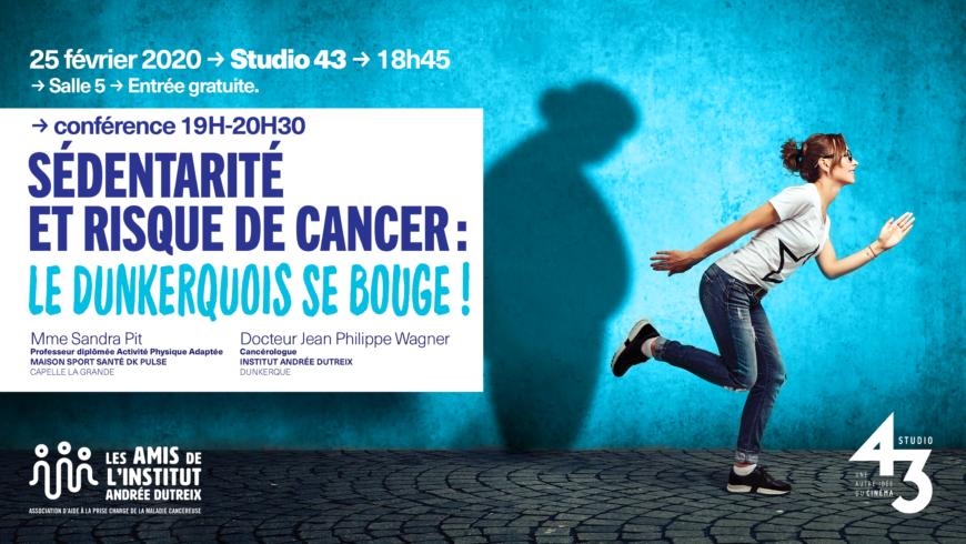 Conférence Sédentarité  et Risque de Cancer