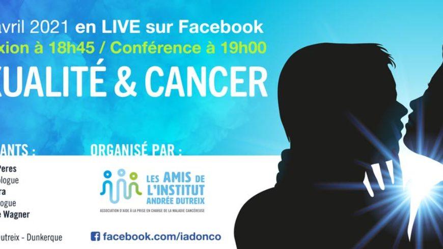 Sexualité & Cancer : Conférence LIVE le 22 avril